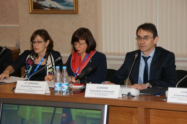 Ректоры федеральных университетов на встрече в Архангельске