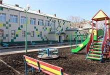 здание реконструированного детского садика