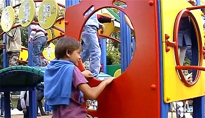 Оснащение игровой детской площадки