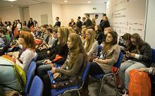 В октябре в Москве прошел первый форум «Навигатор поступления— 2014», собравший около 5'000 человек.