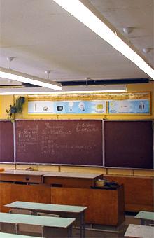 Требования к освещенности школьных классов
