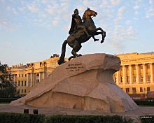 Хорошо бы уточнить, что пришлось сделать для строительства Санкт-Петербурга; и на чьих костях строился этот город