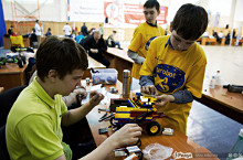 В МГУПИ с 18 по 19 апреля 2014 года прошел IV Международный форум «Роботы-2014».