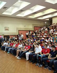 В Москве прошел учредительный съезд Ассоциации студентов и студенческих объединений России.