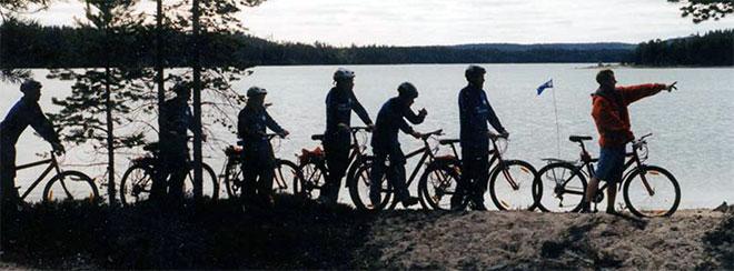 Велоспорт на природе