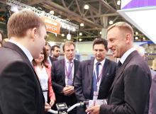 Министр образования и науки РФ Дмитрий Ливанов на открытии выставки