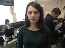 Однин из 14-ти призеров финального этапа конкурса в 4-х номинациях - Анна Степашкина, студентка Самарского государственного университета