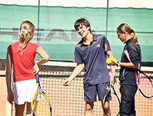 Спортивная секция большого тениса