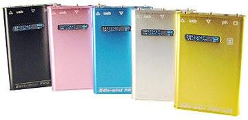 Цифровой диктофон Edic-mini Pro A38 выпускается в нескольких вариантах окраски и подойдет под любой вид одежды