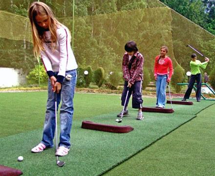 школьный гольф