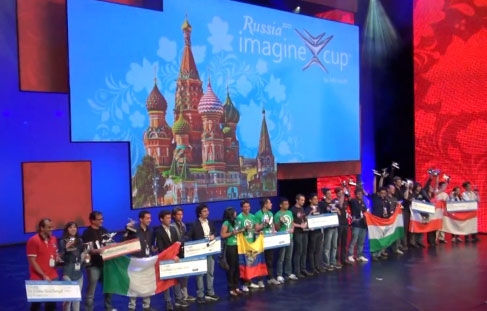 Финал конкурса Imagine Cup 2013