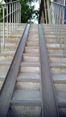 лестница, коляска