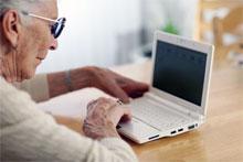 старшое поколение и компьютер