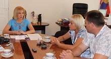 встреча руководителя Юго-Восточного управления министерства образования и науки Самарской области  Елены Баландиной с представителями СМИ