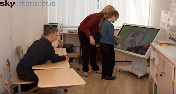 Интерактивный стол для детского сада